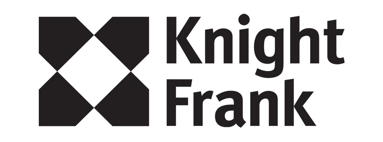 Knight Frank Brandmark Black transparent